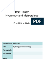 0. Introduction to Hydrology and Meteorology