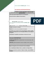 Ficha de Evaluacion Diapositivas