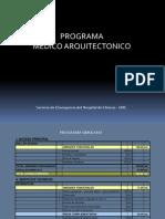 Programa MED-ARQ - Serv Emergencias - HospClin