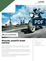 2010 Yamaha XJR1300 Factsheet GB En