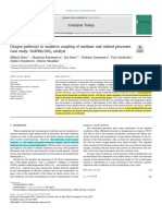 Oxygen pathways in oxidative coupling of methane and related processes
