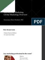 1 International Marketing Hult 2018