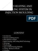 rapid heating and cooling of injection mould