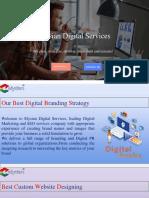 Our Best Digital Branding Strategy | Elysian Digital Services