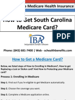 How to Get South Carolina Medicare Card?