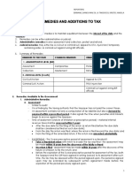 Tax Remedies and Additions to Tax Handouts PDF