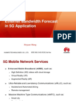 Ethernet Bandwidth Forecast  in 5G Application