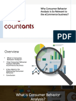 Why Consumer Behavior Analysis is So Relevant to the ECommerce Business