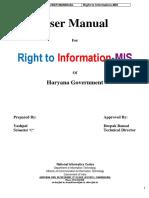 RTI usermannual