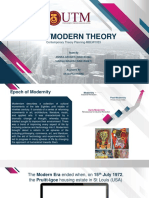 Assignment 2 Postmodern Theory PDF