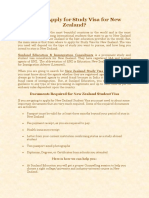 New Zealand Study Visa Consultants  | Sunland Education