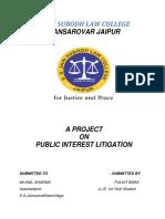 Public Interest Litigation Project