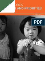 DPRK_Needs and Priorities_2019