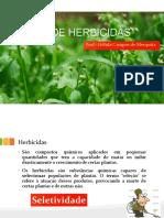 Aula 04 - USO DE HERBICIDAS