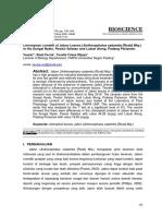 Biosience  Vauzia Publish