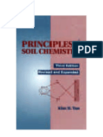 Principles of Soil Chemistry Tan