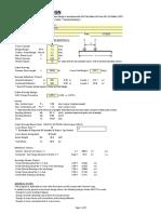 PGCC - Crane Beam Calculation