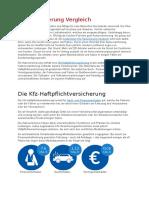 Deutschland - KFZ Versicherungen Im Vergleich 2020