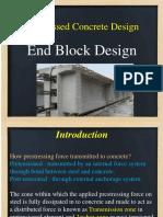 End Block Design of Psc