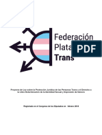 Proposición de Ley Trans Estatal