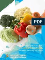 Statistik Pertanian Hortikultura Kabupaten Semarang 2017-2018
