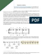 Clase de Musica sobre Dominantes