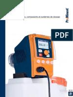 Pompes Doseuses Composants Systemes Dosage ProMinent Catalogue Des Produits 2016 Volume 1