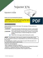 VIDEO PROJECTEUR 3M X76.pdf