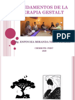 FUNDAMENTOS DE LA TERAPIA GESTALT