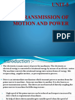 TRANSMISSION OF MOTION AND POWER (1)