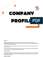Example of Company Profile