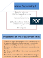 1- Introduction - water sypply system New