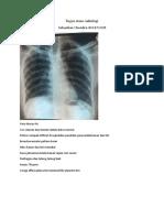 Tugas stase radiologi minggu 1
