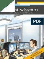 "licht.wissen No. 21 ""Guide to Human Centric Lighting (HCL)"