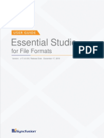 Syncfusion File Formats