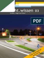 """licht.wissen 03 """"Straßen, Wege und Plätze"""""""