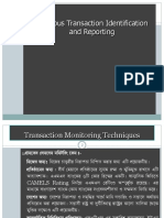 4) Suspicious Transaction Reporting (STR)