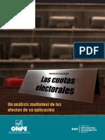 Las cuotas electorales Un análisis multinivel de los efectos de su aplicación