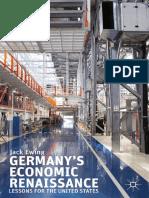 Germany's Economic Renaissance by Jack Ewing