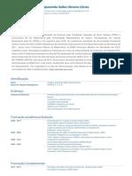 Currículo do Sistema de Currículos Lattes (Crislaine Aparecida Selles Oliveira Côrtes)(1)