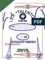 Carpeta Pedagógica 2015