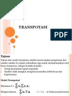 TRANSPOTASI