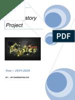 physics investorygatory project.docx