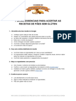 MATERIAL DE APOIO - VÍDEO 01 - MINI CURSO SEGREDOS DOS PÃES SEM GLÚTEN