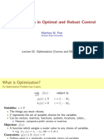 LMI Methods in Optimal and Robust Control