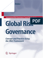 Global Risk Governance Concept and Practice Using