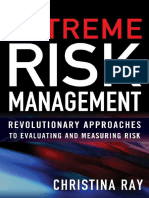 Extreme Risk Management Revolutionary Approaches t