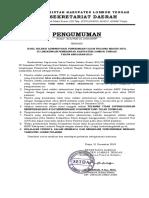 pengumuman hasil administrasi lombok tengah
