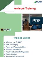 HSE-BMS-004 Supervisors Training