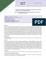 Percepción y manejo del insomnio desde los pacientes y profesionales en atención primaria